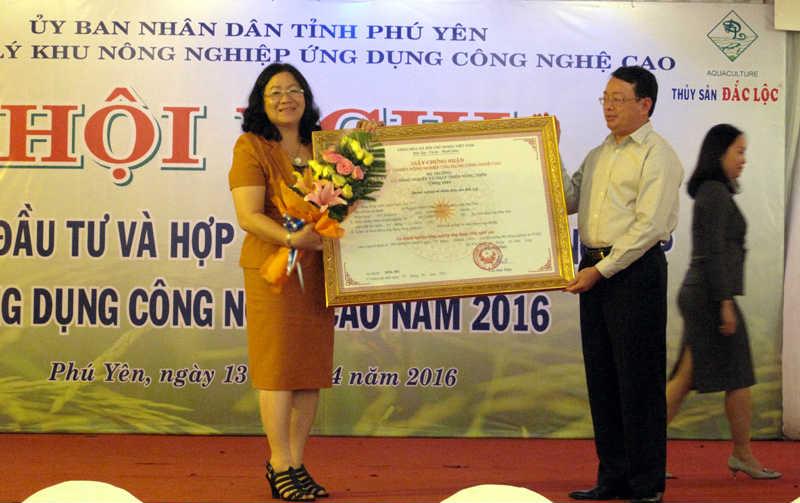 Hội nghị Xúc tiến đầu tư và hợp tác các BQL khu nông nghiệp ứng dụng CNC năm 2016