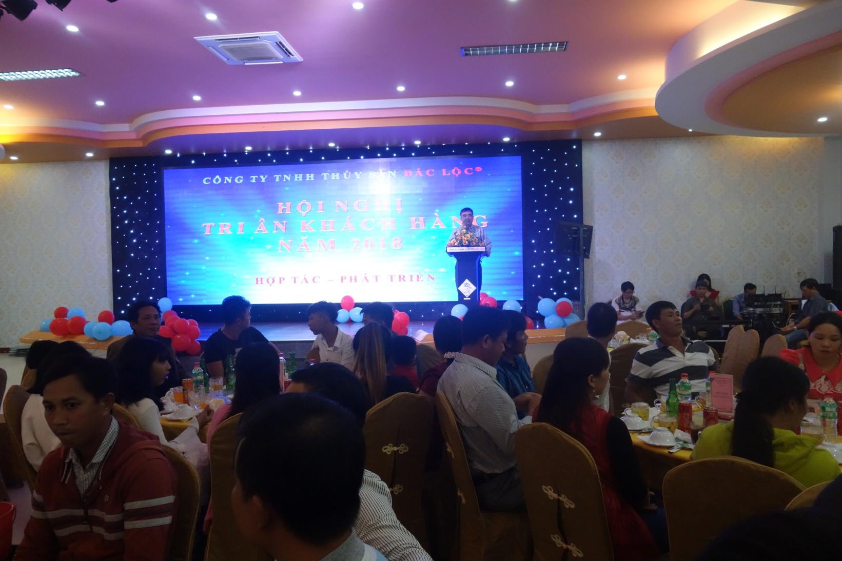 Hội nghị khách hàng Công ty TNHH Thủy sản Đắc Lộc năm 2018